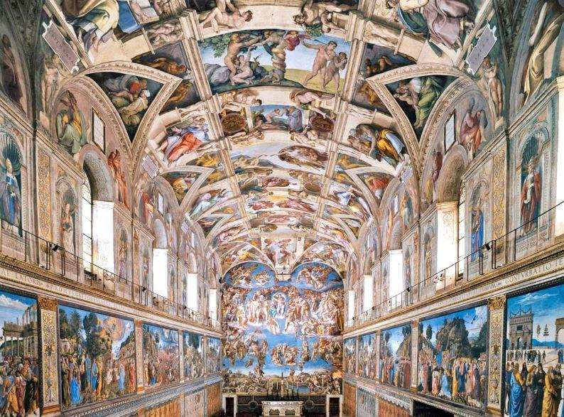 Сикстинская капелла - достопримечательность Ватикана