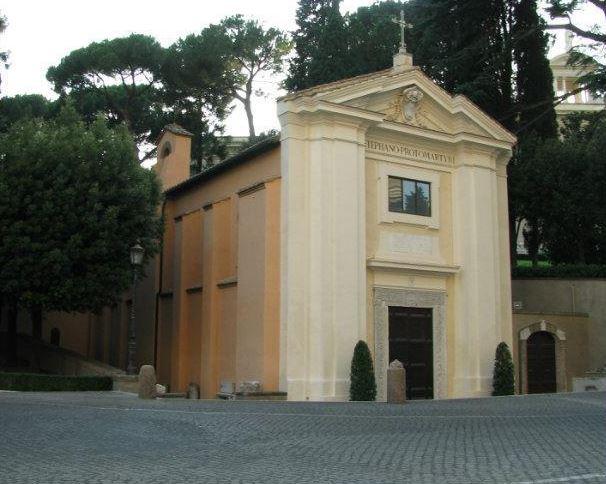 Церковь Санто-Стефано-дельи-Абиссини - старейший храм Ватикана