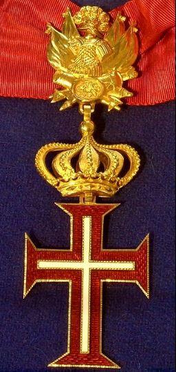 Знак Верховного Ордена Христа - Высшего рыцарского ордена Папского Престола