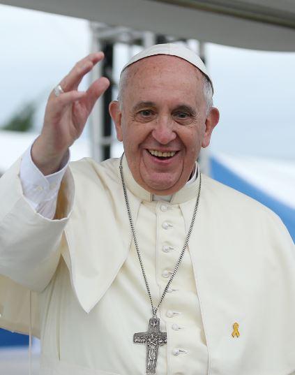 Действующий глава католической церкви и Ватикана Папа Римский Франциск