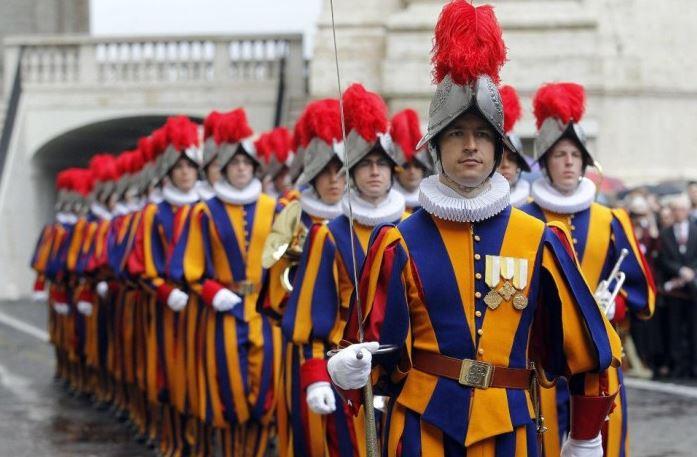 Вооружённые силы Ватикана - Швейцарская гвардия