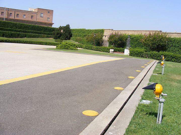 Ватиканский гелипорт - Гражданский вертолётный аэровокзал
