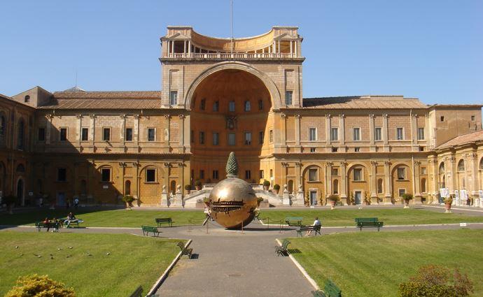 Григорианский Этрусский музей Ватикана