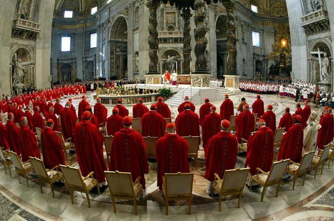 Конклав - собрание кардиналов по избранию нового Папы Римского