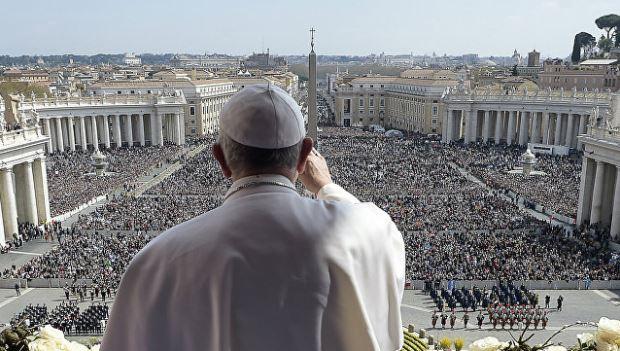 Папа Римский - глава государства-города Ватикан