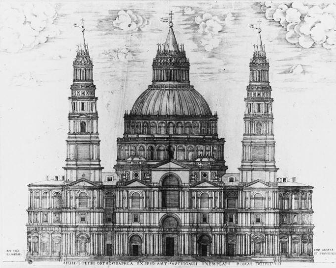 Проект флорентийского архитектора Сангалло