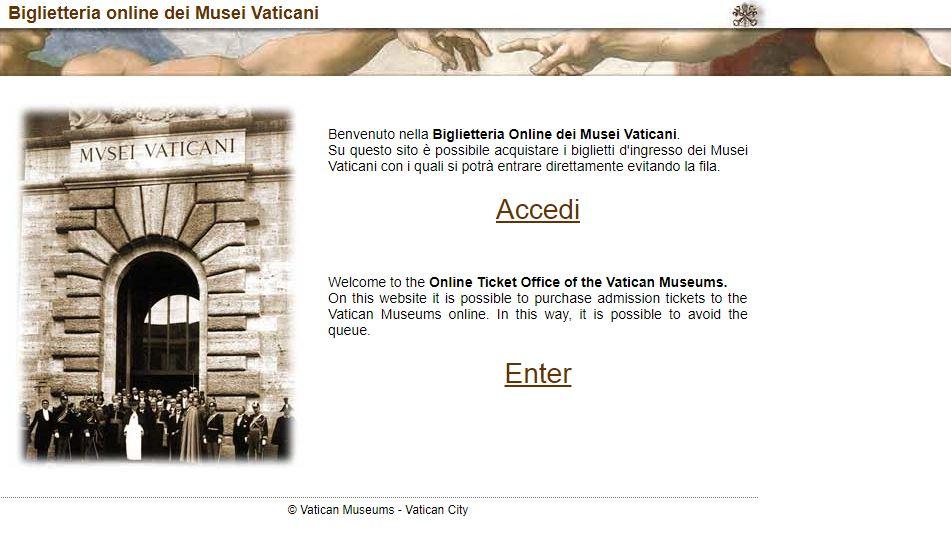 Официальный сайт Ватиканских музеев